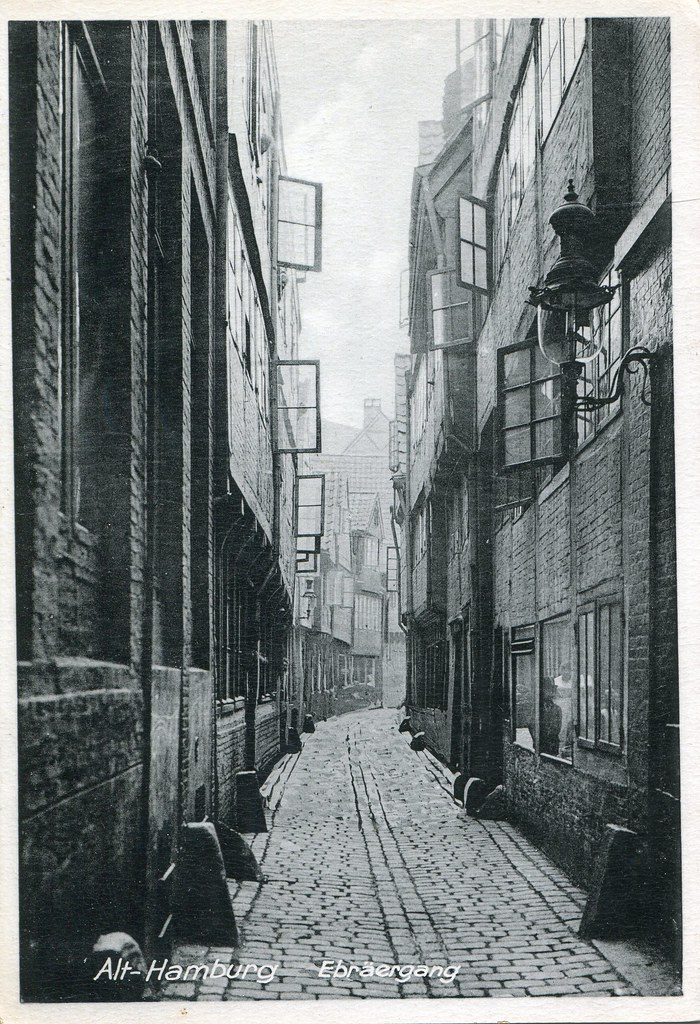 Alt-Hamburg, Ebräergang (undated)
