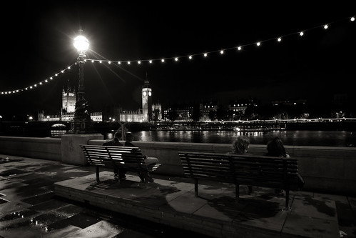 584/1000 - Thames at night by Mark Carline