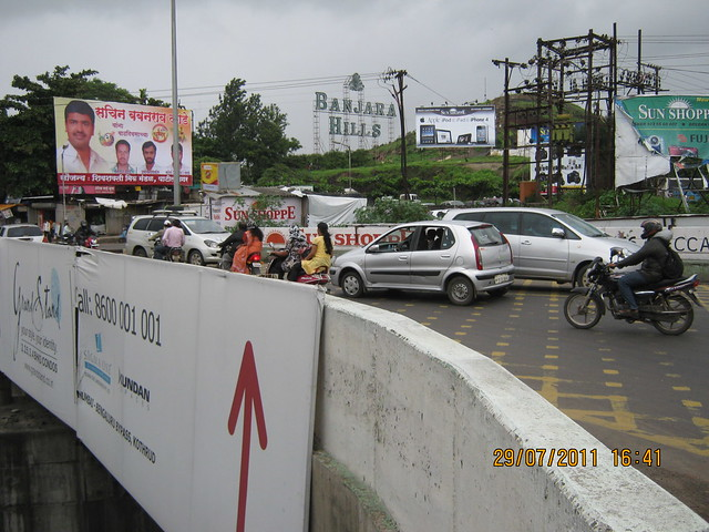 Chandani Chowk - Visit to Paranjape Schemes' Gloria Grace, 2 BHK & 3 BHK Flats, at Bavdhan, on Paud Road, Kothrud Annexe, Pune