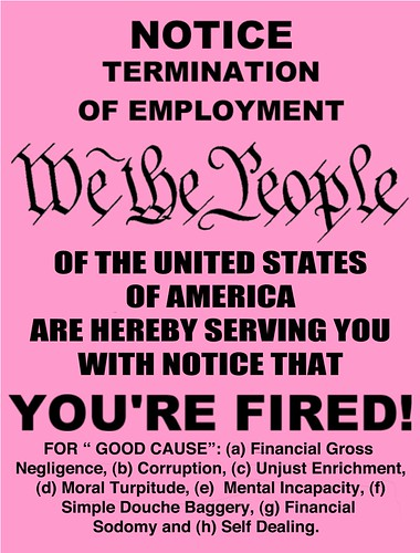 FEDERAL PINK SLIP by Colonel Flick