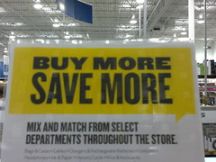 Buy More, Save More?