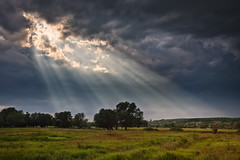 Holy Look ([]NEEL[]) Tags: sky storm nature clouds landscape ukraine rays
