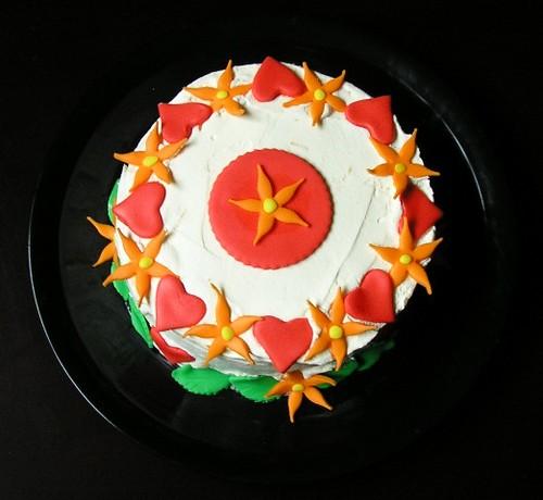 Mom's birthday cake 3