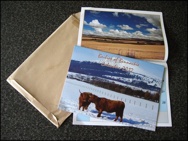 Bailies of Bennachie Calendar 2012