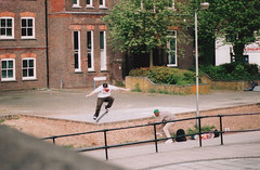 Louis Francis - Nollies Gap (old_skool_paul) Tags: street new light red portrait orange color colour art film june youth 35mm canon lens eos death high fuji locals minolta skateboarding pentax buckinghamshire creative hipster may gap july 360 slide ollie 180 skatepark only lip backside uni manual nophotoshop extremesports 5000 sputnik leak tamron bucks watford marlow frontside lense 135mm wycombe 70mm nollie enuff feeble 2011 210mm shuvit twoseasons t2mount tosner skateboardsundays blaselondon