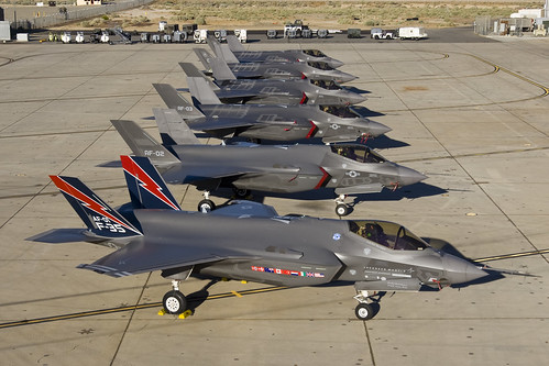 Edwards AFB F-35A Test Aircraft