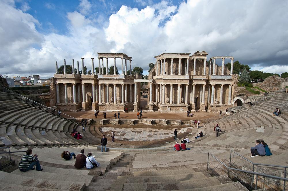 Boda Teatro Romano Merida : El teatro romano de mérida