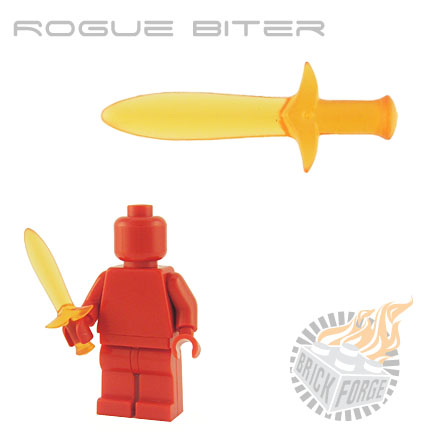 Rogue Biter (of Fire) - Trans Orange