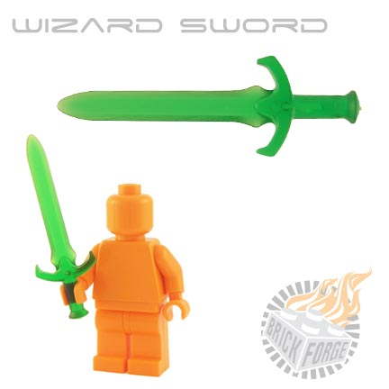 Wizard Sword (of Poison) - Trans Green