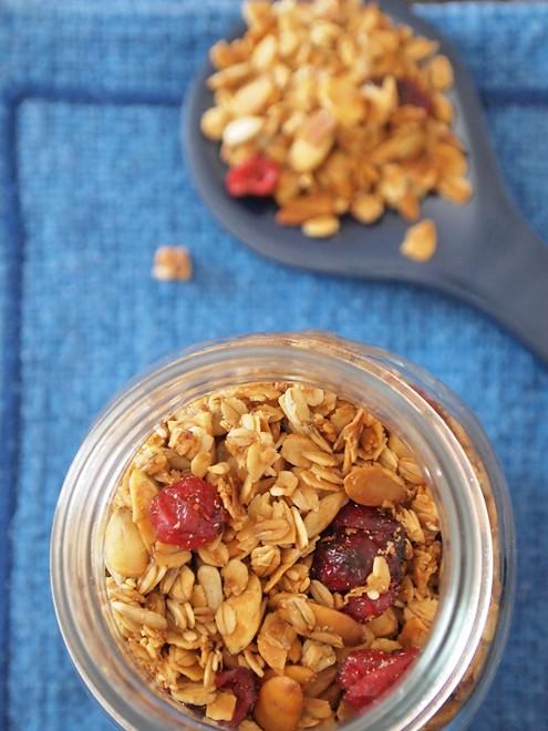 homemade musli/granola
