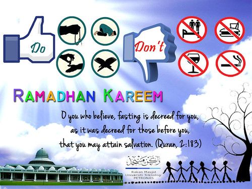 Do's and Don'ts bulan Ramadhan