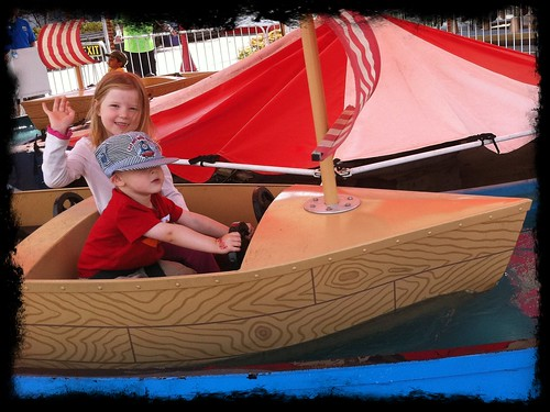 "Riding the ""pirate ships"""