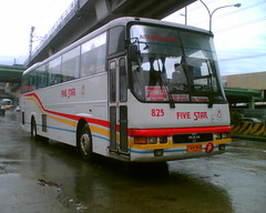 Five Star 825 (Bus Ticket Collector XI; Synesthesia ) Tags: bus pub philippines fivestar balintawak mandiesel pbpa lionsstar pfsbci philippinebusphotographersassociation
