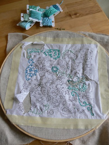 Jenny: Spring Sampler Stitch-Along