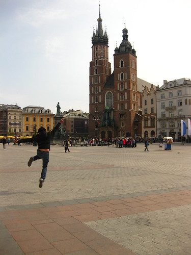 Krakow, Poland - Jumping shot