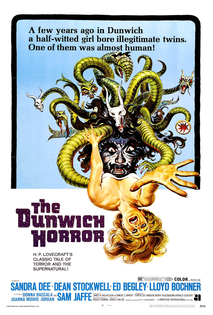 Reynold Brown - The Dunwich Horror (American International, 1970)