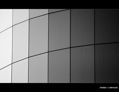 Greyscale (Bakar_88) Tags: blackandwhite bw abstract glass monochrome architecture modern photography flickr softness modernism curve riyadh saudiarabia modernarchitecture greyscale lightroom ksa curtainwall nikond90 lens55200 nikkorzoom andrewashenouda