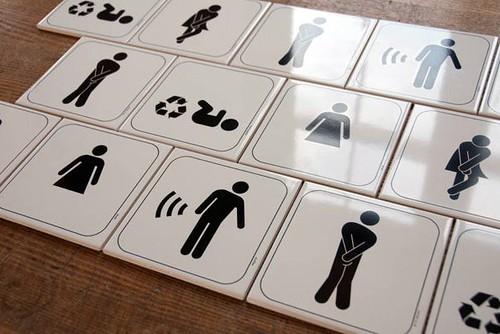 Birbirinden Komik Tuvalet Işaretleri Enis Eryılmazcom