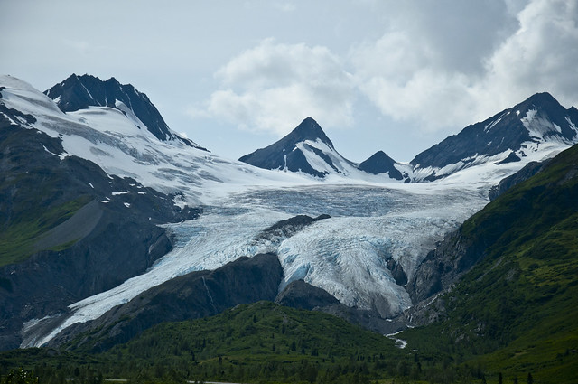 Worthington Glacier Overview