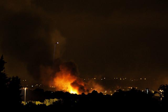 Tottenham riot fires