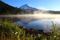 Sunrise at Trillium Lake (Cole Chase Photography) Tags: oregon sunrise canon explore mthood t3i trilliumlake