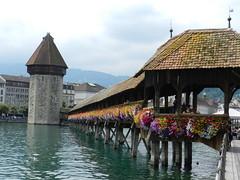 Il Ponte della Cappella a Lucerna (Kapellbrcke) (Tomasi Mirko) Tags: lucerna kapellbrcke tomasimirko25