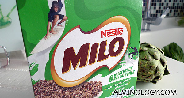 MILO Energy Snack Bar With Milk
