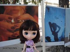 Tabatha na exposição de fotos Pé na Jaca!!