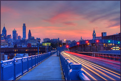 Ben Franklin LightTrails - Philadelphia (MurrayH77) Tags: sunset philadelphia pa hdr photomatix 2exp doublyniceshot doubleniceshot tripleniceshot mygearandme mygearandmepremium mygearandmebronze mygearandmesilver mygearandmegold flickrstruereflection1 flickrstruereflection2 flickrstruereflection3 4timesasnice 5timesasnice