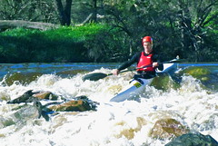 """""""Here We Go...!"""" (Padmacara) Tags: river boats whitewater australia canoe rapids foam paddling avondescent froth riverrace sx30is"""