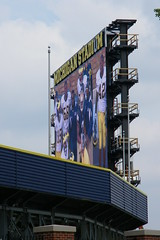 58/365/1153 (August 8, 2011) – New Scoreboard Construction at Michigan Stadium (the Big House) - University of Michigan's Football Stadium (August 8, 2011)