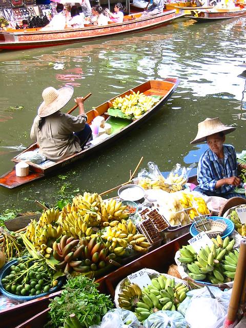 Thailand 44 floating market