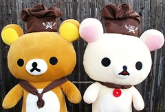 Kuma Chocolatiers for Ellie (applel0ve) Tags: plush kawaii rilakkuma sanx chocolatier  korilakkuma  xl