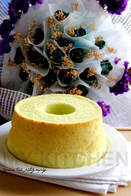 Green Pea Chiffon