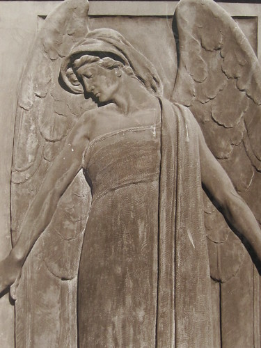 Angel Relief Sculpture
