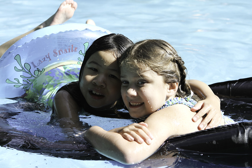 7-4-11 July 4 Anna Emily pool
