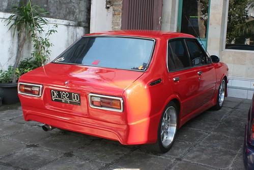 Toyota Corolla KE30 in Tuban, Bali