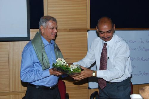 Felicitation by Dr. Abhijit Patil