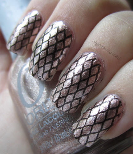 Orly Rage with Stamping
