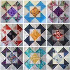 HST Bee Block Mosaic
