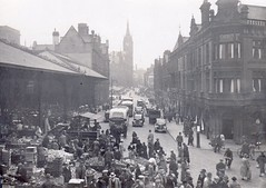 Market Street,  Preston c. 1940 (Preston Digital Archive) Tags: hotel arms farmers