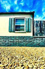 Textures (rd522) Tags: california house window wall sandiego shingles bluesky