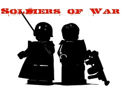 Soldiers of War (*Nobodycares*) Tags: gun lego wwii tommy troopers worldwarii jacket ww2 soldiers guns vest thompson picnik worldwar2 uas sheath brickarms sluban mmcb