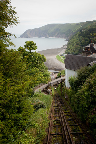 504/1000 - Lynton and Lynmouth Cliff Railway by Mark Carline