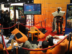 Anime Expo 2011 - Crunchyroll lounge
