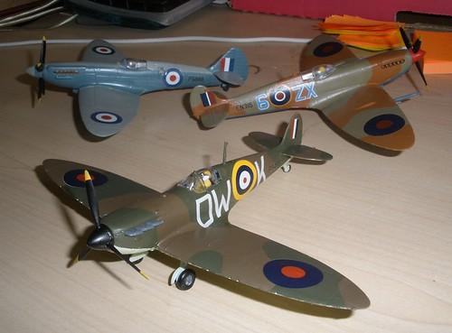 3 Spitfires
