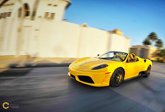 Ferrari F430 16M Scuderia Spider (Tareq Abuhajjaj | Photography & Design) Tags: light red bw orange moon white black car sport night race speed dark photography lights design spider photo high nice nikon flickr nissan power top fast gear ferrari saudi arabia manual fiber rims riyadh scuderia  2010 f430 ksa tareq 16m       d700     foilacar tareqdesigncom tareqmoon tareqdesign  abuhajjaj