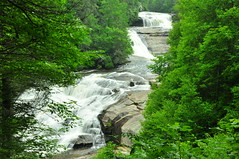 Dupont State Forest, Triple Falls (BlakeLewisPhotography) Tags: blue mountains green nature water beauty america river movie landscape amazing cool woods rocks pretty earth awesome north ridge waterfalls parkway hollywood carolina dupontstateforest appalachain hungergames katnis