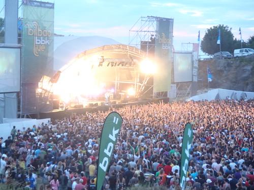 BBKLive 2011. Kobetamendi. Bilbao, 8 de Julio de 2011. by Patmm1