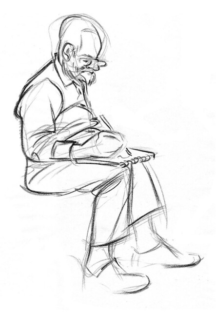 lifedrawing - 07102011